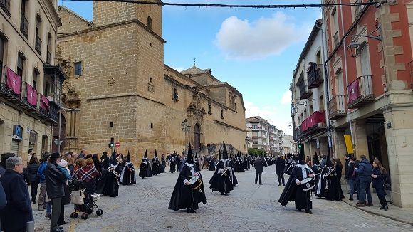 The Easter procession in Ubeda